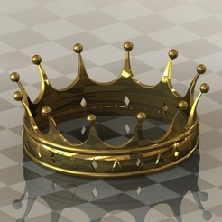 crown.JPG Download free STL file Crown • 3D printer model, 3dcave