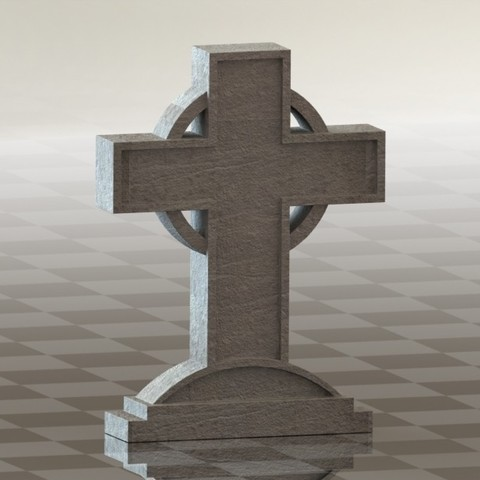 Download free 3D printer files Cross, 3dcave