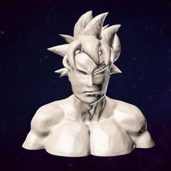 Free 3D printer file Goku Ultra Instinct, alexisbrtn
