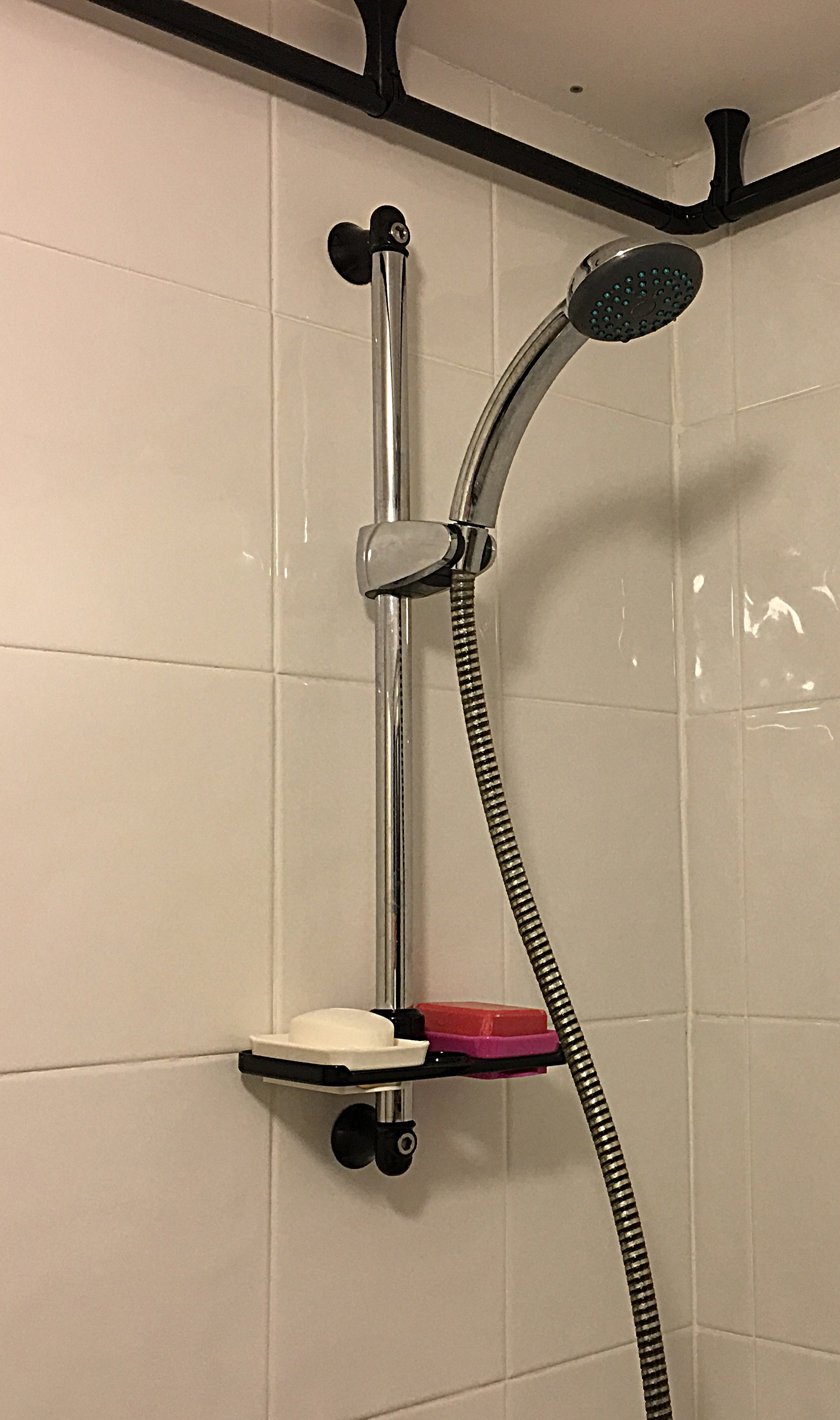 ShowerComplete.jpg Download free STL file  Interchangeable Shower Soap Dish System • Model to 3D print, Sue3DDesigns