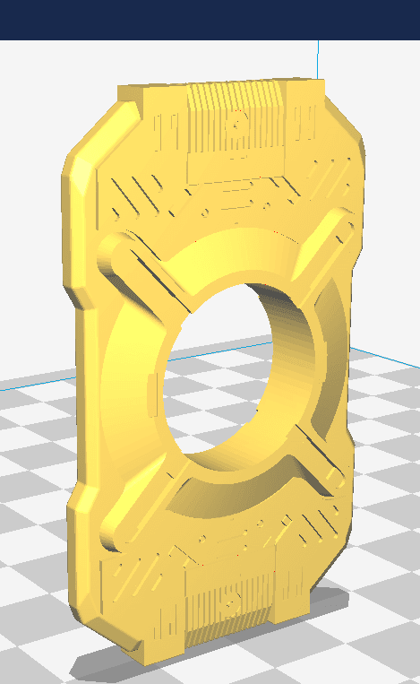 cortana chip 2.png Download STL file Halo - Cortana chip HD • 3D printable template, spyder-atelier