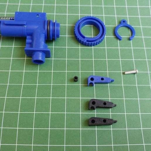 Télécharger fichier 3D gratuit Bras Specna Hopup - Original et plat, jonnieZG