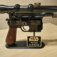 Download free 3D printing files Han Solo Blaster DL-44 Stand, jonnieZG