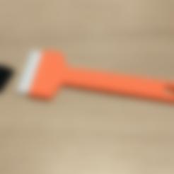 Descargar archivo 3D gratis Raspador de cama de impresora con cuchillas impresas reemplazables, jonnieZG