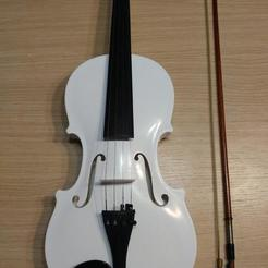 Free STL Acoustic Violin 4/4 - Stridivarius Fiddle, jonnieZG