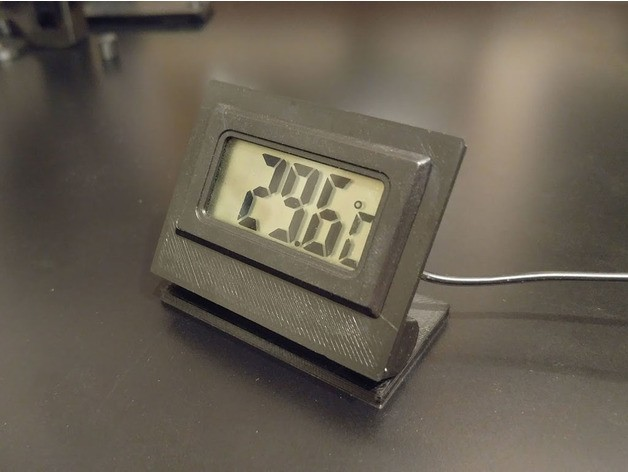 3b6acc28fa5aa9b835dc853ba474e969_preview_featured.jpg Download free STL file Adjustable Digital Thermometer Stand • 3D printer template, jonnieZG