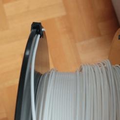 modelo stl gratis Createbot Filament Spool Clip, jonnieZG