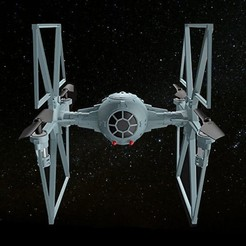 Descargar archivo 3D gratis Hélices de hélice TIE Fighter Drone, jonnieZG