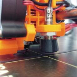 Télécharger objet 3D gratuit Prusa Mk2 PINDA Protecteur Chapeau, jonnieZG