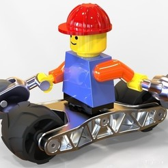 Free 3d printer model Legomobil, SE_2018