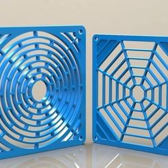 Descargar modelos 3D para imprimir Fan Grill #1 y 2, SE_2018