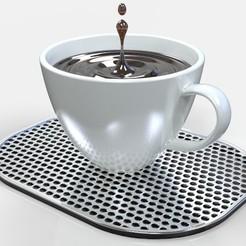 Impresiones 3D gratis Gotas de café, SE_2018