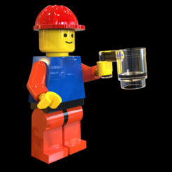 "Free 3d printer model Lego Man ""overpriced Coffee"" , SE_2018"