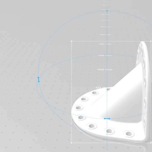 Dimensions Mounting Angle 1 large.jpg Download STL file Mounting Angle 1 • Design to 3D print, SE_2018