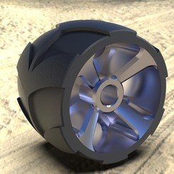 Download free 3D print files Off Road Wheel, SE_2018