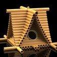 LUB.jpg Télécharger fichier STL gratuit Maison des oiseaux bûcherons • Modèle à imprimer en 3D, SE_2018