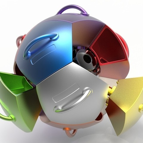 key917.447.jpg Download STL file Spherical Drawer Organizer  • 3D printing object, SE_2018