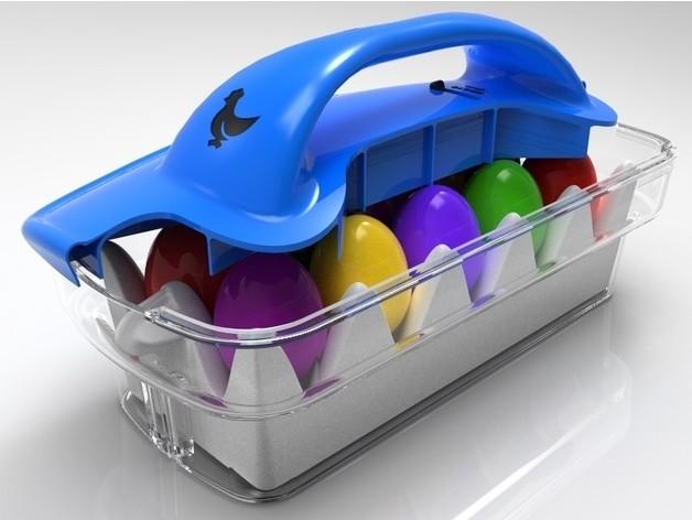 f149f63d69efef82d908e39fbbbb9182_preview_featured.jpg Download STL file Easter Eggs Basket • 3D printable design, SE_2018