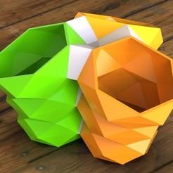 Polygon Vase.jpg Download STL file Polygon Vase • 3D print object, SE_2018