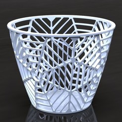 Spider Basket.jpg Télécharger fichier STL Panier d'araignée • Objet pour imprimante 3D, SE_2018