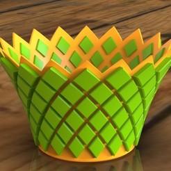 Download free 3D printer files Pineapple Bowl, SE_2018