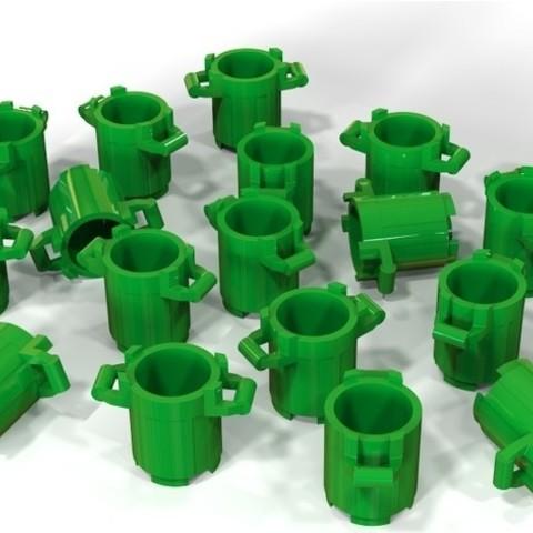 """Free 3d model Lego """"tons of bins"""", SE_2018"""