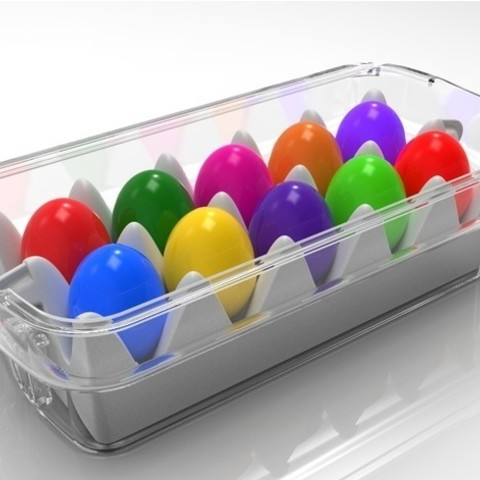 ff8b195bf67a751c717709aeb53f1c94_preview_featured.jpg Download STL file Easter Eggs Basket • 3D printable design, SE_2018