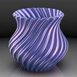Vase No 1.jpg Télécharger fichier STL gratuit Vase - premier essai • Design pour imprimante 3D, SE_2018