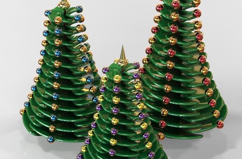 key332.546.jpg Download STL file Christmas Tree • Template to 3D print, SE_2018