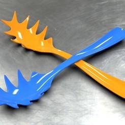 Pasta Grabber 1.jpg Download STL file Pasta Grabber #1 • 3D printer design, SE_2018