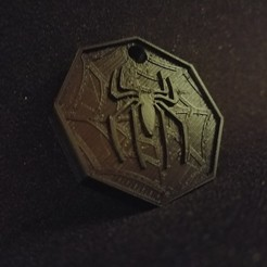 Download 3D printer templates Spiderman Pendant, LnZProd