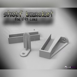 1.jpg Download free STL file Car shelf supports 1:43 • 3D printer design, LnZProd