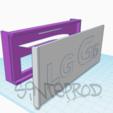Télécharger modèle 3D Support pour autoradio LG G6, LnZProd