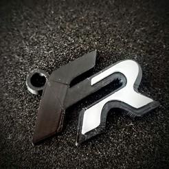 20200327_093259_2.jpg Download STL file Seat FR key ring • 3D printer design, LnZProd
