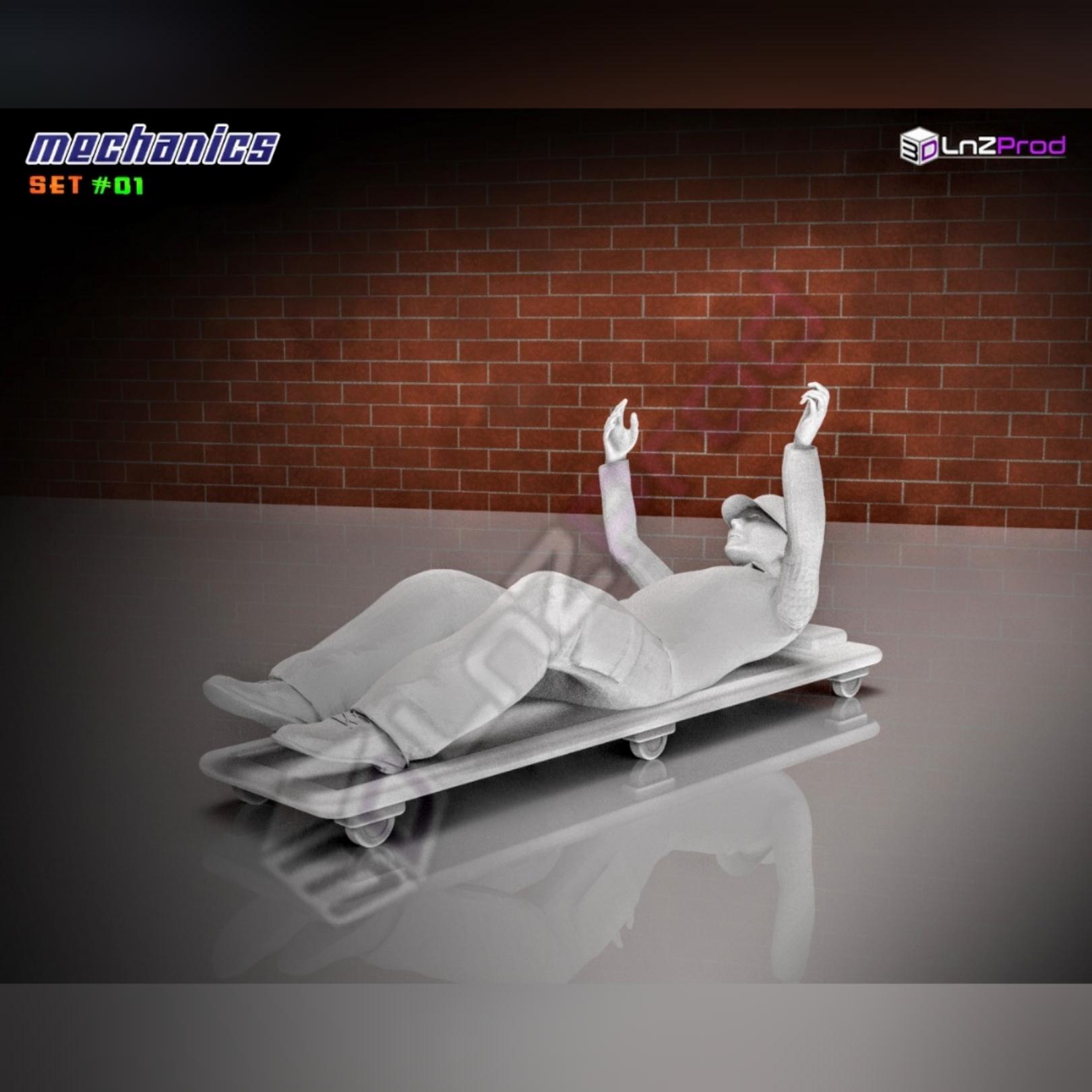 3.jpg Télécharger fichier STL Ensemble de modèles mécaniques à l'échelle #01 • Plan pour impression 3D, LnZProd