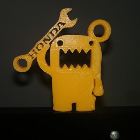 Imprimir en 3D Llavero domo honda, LnZProd