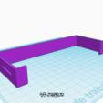 3D printer models Back cover for LCD Infitary M-508, sinteprod