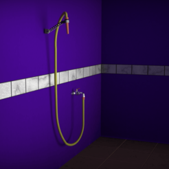 Download free 3D printing models Support for garden or terrace shower, LCM_Designs