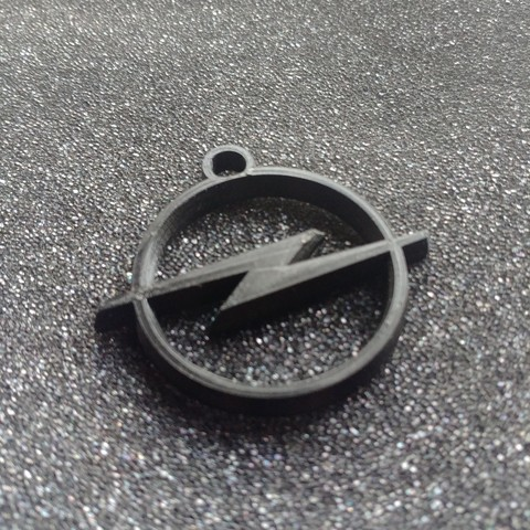 STL file Key ring opel, LnZProd
