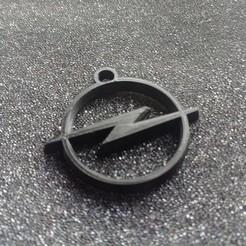 STL file Key ring opel, sinteprod