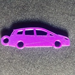 Download 3D print files Ford C-Max key ring, LnZProd