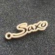 20180703_091803.jpg Download STL file Saxo Keychain • 3D print object, LnZProd