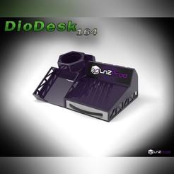 1.jpg Download free STL file DioDesk 164 ( mini diorama for desktop ) (mini diorama tool holder) • 3D printer model, LnZProd