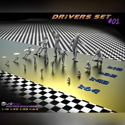 Driver_Set_1_,Main.jpg Download STL file Drivers set scale models #1 • 3D printable model, LnZProd
