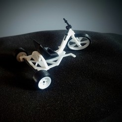 Download STL Drift Bike Tricycle, LnZProd