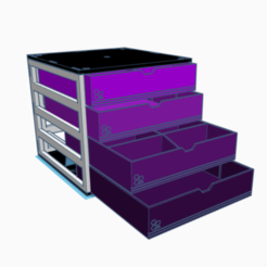 Free 3D printer file Modular desk organizer, sinteprod