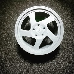 3d_lnzprod_1___ByiN6iJC9Ra___.jpg Download STL file JR15 Rim (Japan Racing) • 3D printing object, LnZProd
