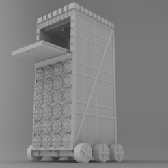 frontal basico.png Download STL file Siege tower (functional) • Template to 3D print, LnZProd