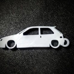 Download STL files Key ring Citroen Saxo vts, LnZProd