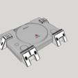 Download 3D printer designs PS1 Wall mount, LnZProd